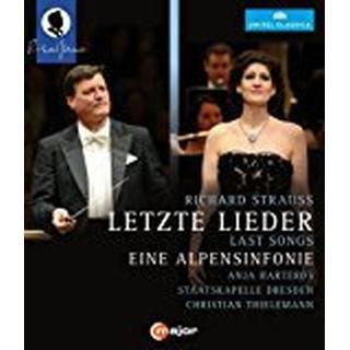 Strauss:Alpensinfonie [Christian Thielemann, Anja Harteros; Staatskapelle Dresden] [C MAJOR: BLU RAY] [Blu-ray] [2014] [Region Free]